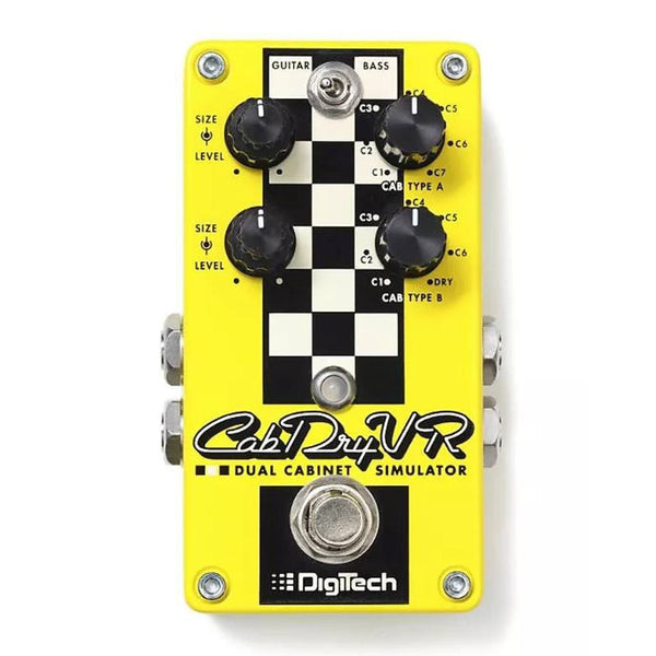 Digitech Cab DryVR Dual Cabinet Simulator Pedal B Stock-ThePedalGuy