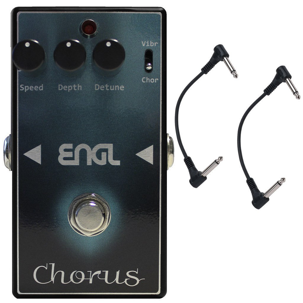 ENGL CH-10 Chorus Pedal with Two Patch Cables-ThePedalGuy