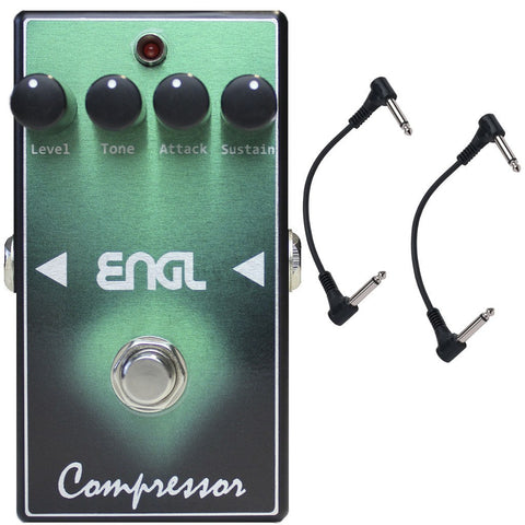 ENGL BF-10 Compressor Guitar Pedal with Two Patch Cables-ThePedalGuy