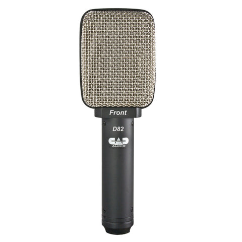 CAD Audio D82 Side Address Ribbon Microphone-ThePedalGuy