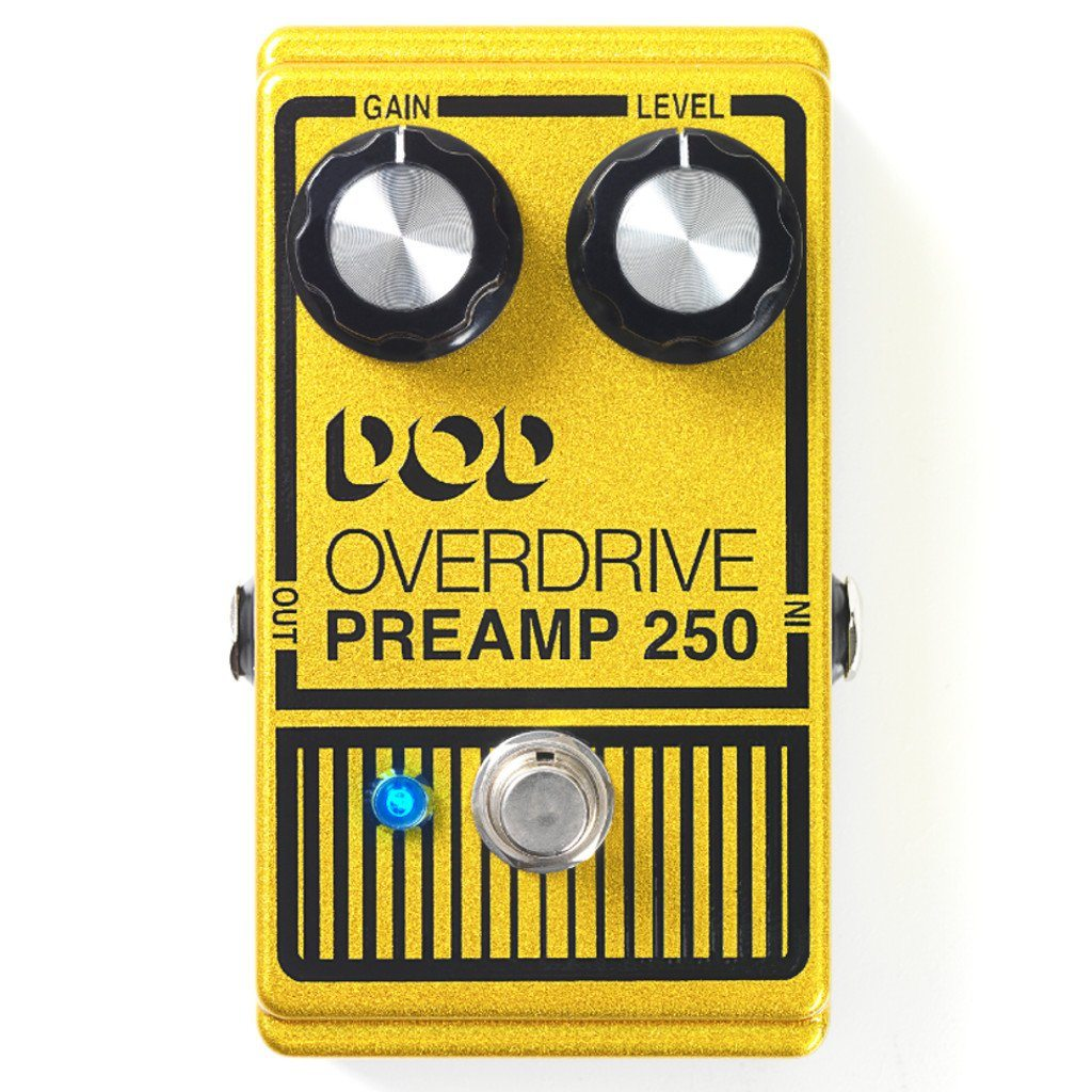 DOD 250 Overdrive/Preamp Pedal Reissue B Stock-ThePedalGuy