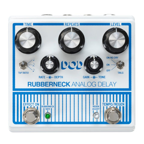 DOD Rubberneck Double Wide Analog Delay Guitar Pedal-ThePedalGuy