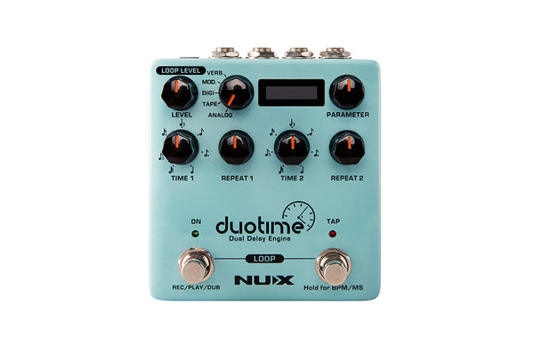 NuX Duotime NDD-6 Dual Delay Engine-ThePedalGuy