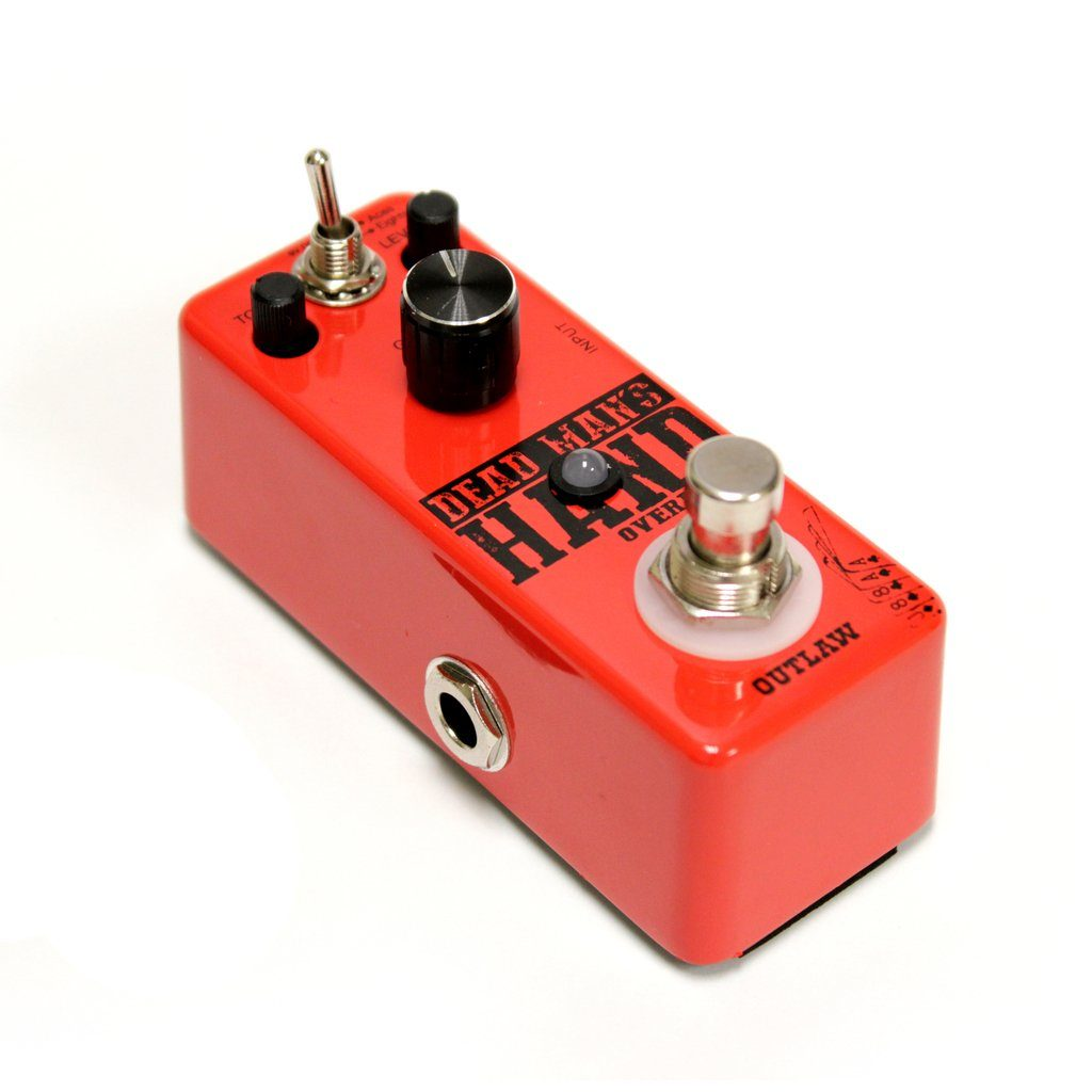 Outlaw Pedals DEAD MANS HAND 2-Mode Overdrive Pedal-ThePedalGuy