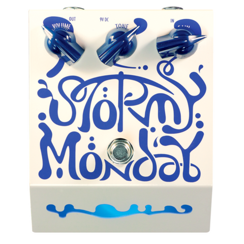 The Deep Trip Stormy Monday Overdrive Pedal-ThePedalGuy