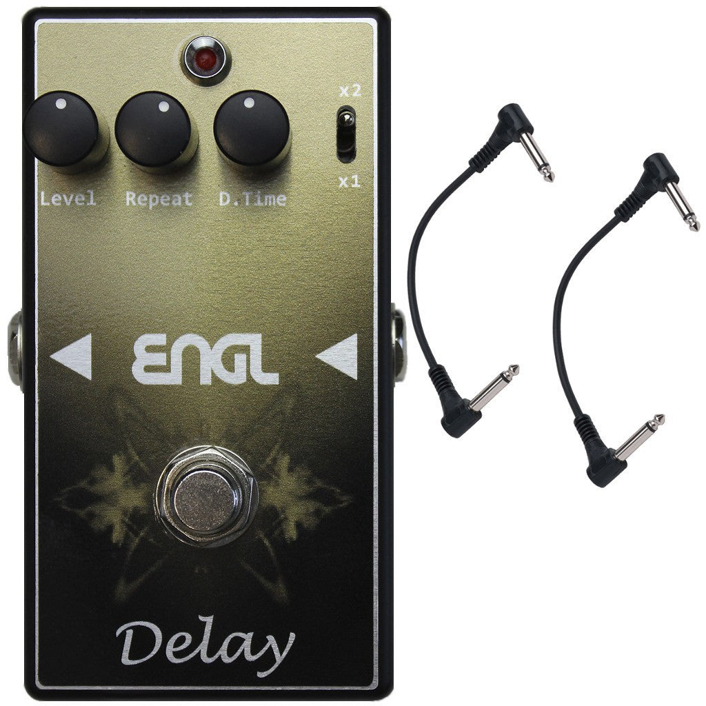 ENGL DM-60 Delay Guitar Pedal with Two Patch Cables-ThePedalGuy