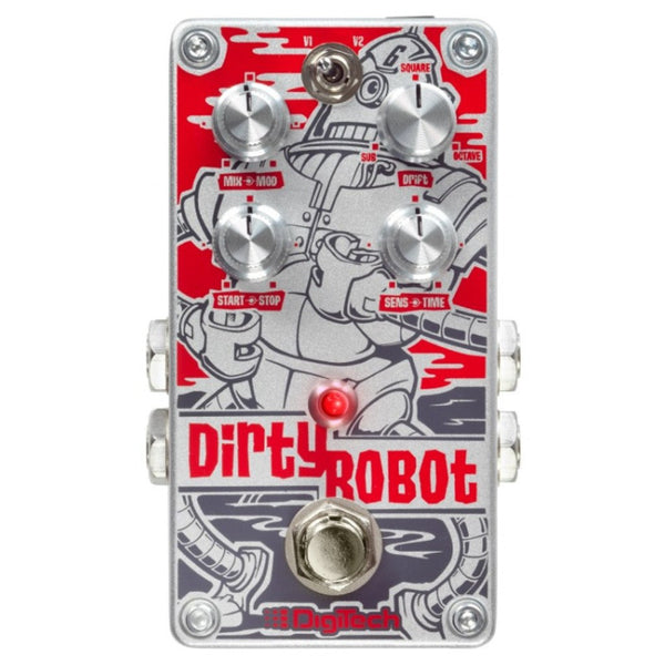 DigiTech Dirty Robot Guitar Synth Pedal-ThePedalGuy