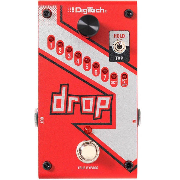 The DigiTech Drop Polyphonic Drop Tune Pedal Open Box-ThePedalGuy