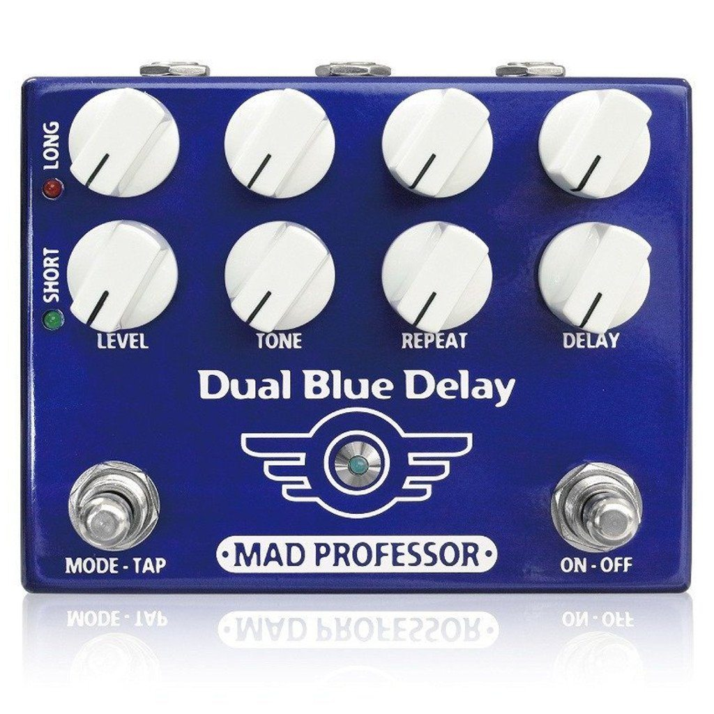 Mad Professor Dual Blue Delay Guitar Pedal B Stock-ThePedalGuy