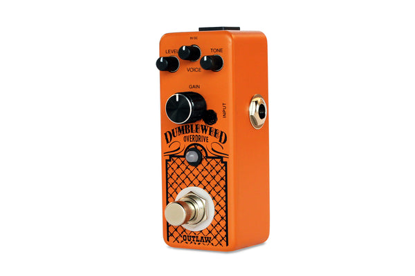 Outlaw Effects Dumbleweed D-Style AmpOverdrive Pedal-ThePedalGuy