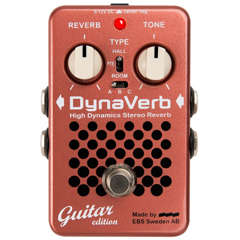 EBS DynaVerb - Guitar Edition Pedal-ThePedalGuy
