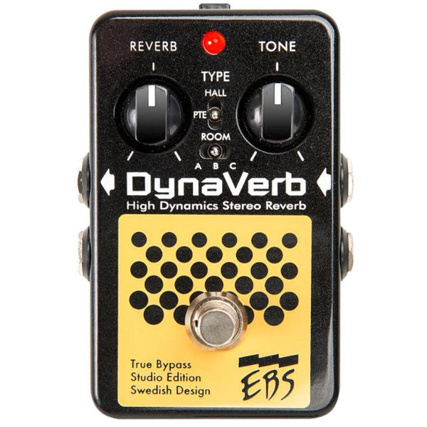 EBS DynaVerb - Studio Edition Guitar and Bass Pedal-ThePedalGuy