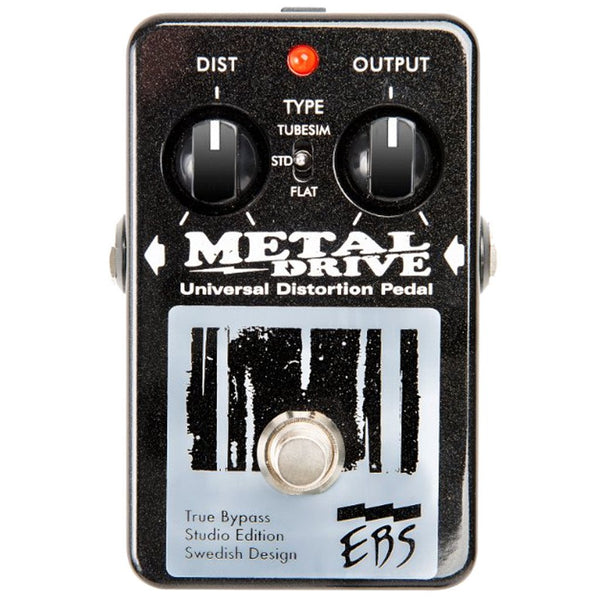 EBS MetalDrive - Studio Edition Bass Pedal-ThePedalGuy