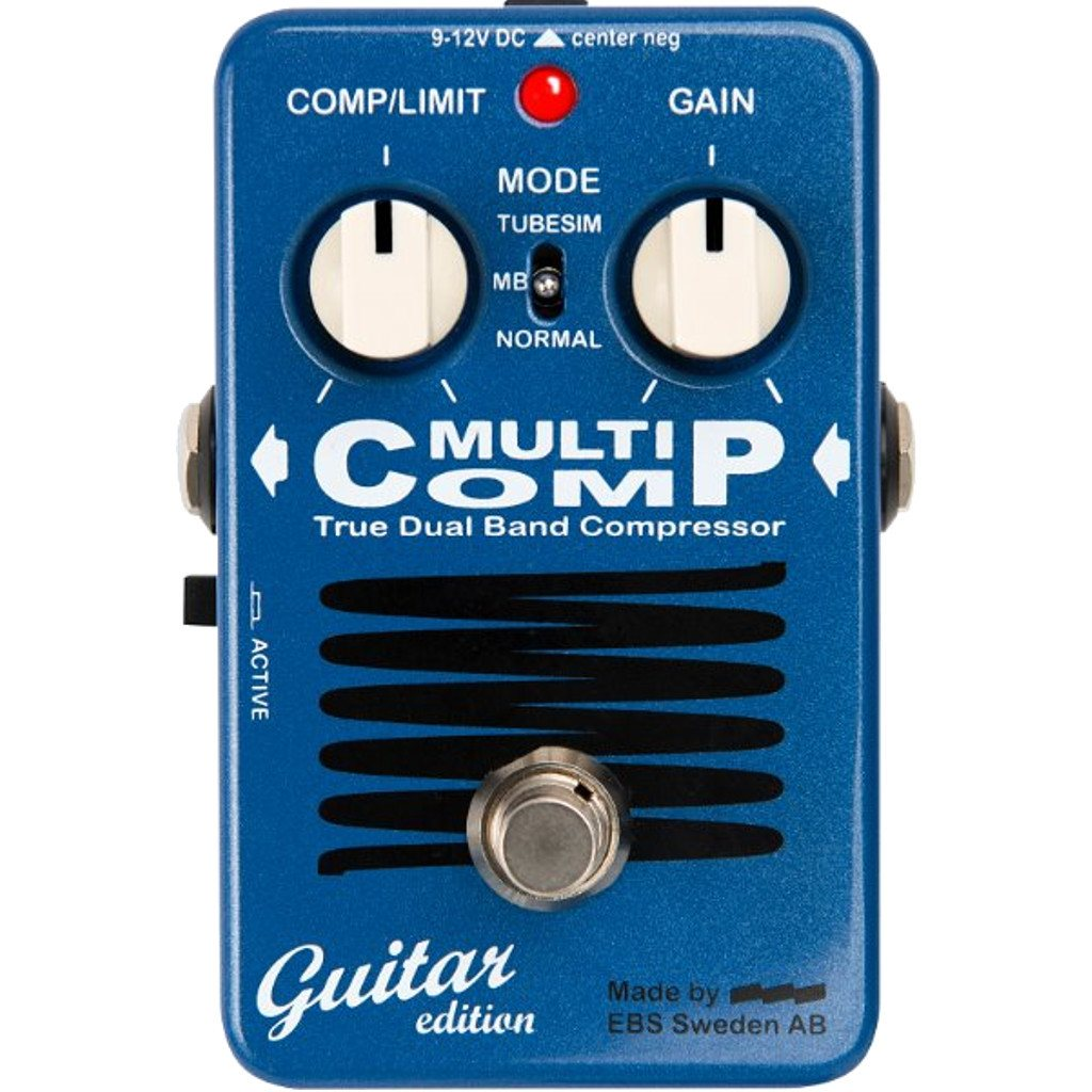 EBS MultiComp - Guitar Edition Pedal-ThePedalGuy
