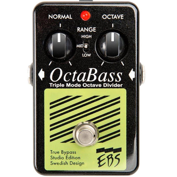 EBS OctaBass-Studio Edition Bass Pedal-ThePedalGuy