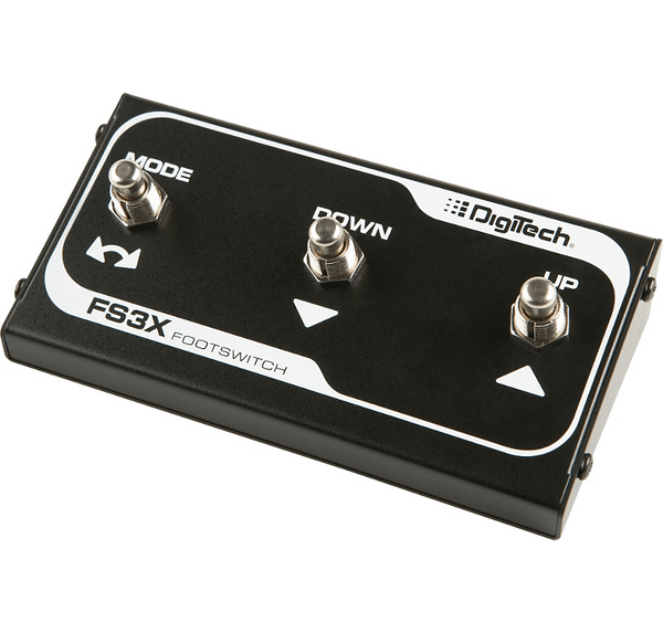 DigiTech FS3X 3 Button Footswitch for SDRUM and JamMan-ThePedalGuy