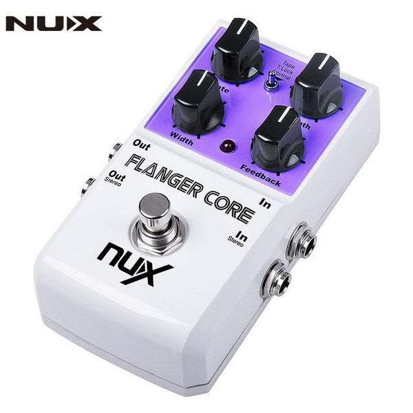 NuX Flanger Core Pedal for Guitar and Bass-ThePedalGuy