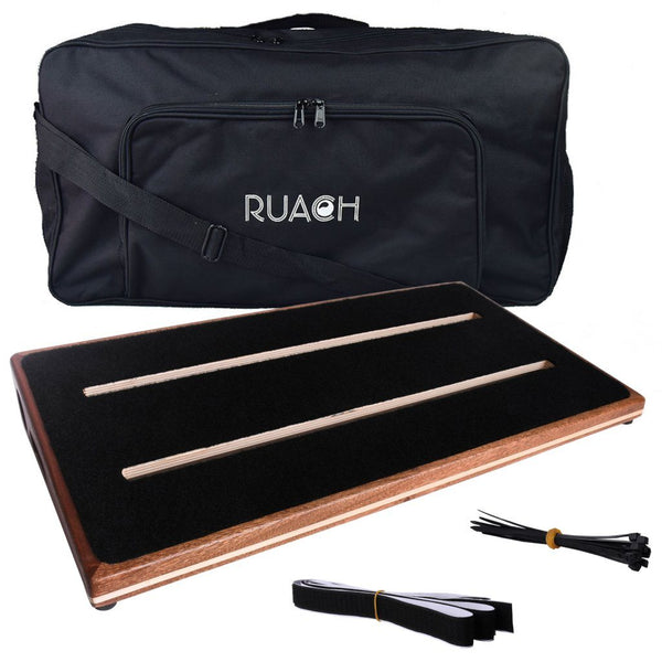 Ruach Music Foxy Lady 3 Pedalboard Bundle with Solderless Jacks and Adapters-ThePedalGuy
