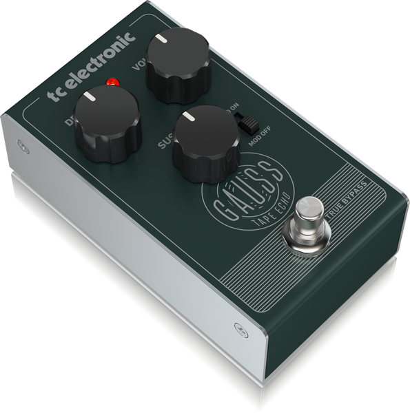 TC Electronic Gauss Tape Echo w/ Mod Switch, Delay, Sustain & Volume Controls-ThePedalGuy