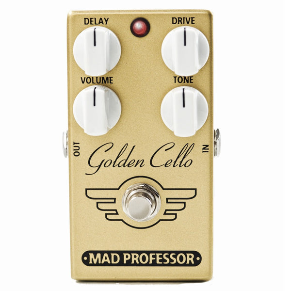 Mad Professor Golden Cello Overdrive/Delay Pedal B Stock-ThePedalGuy