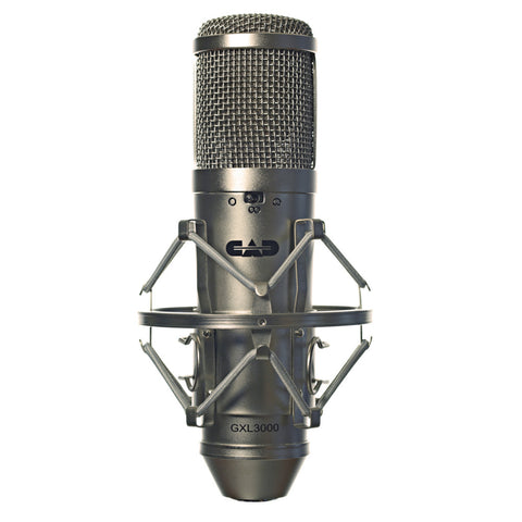 CAD Audio GXL3000 Large Diaphragm Cardioid Condenser Microphone-ThePedalGuy