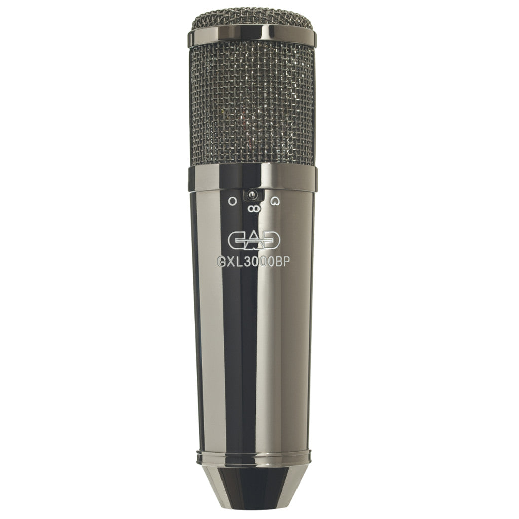 CAD Audio GXL3000BP Large Diaphragm Cardioid Condenser Microphone Black Pearl-ThePedalGuy