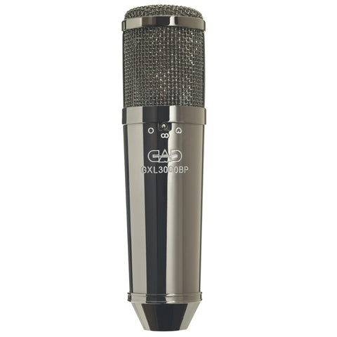 CAD Audio GXL3000BP Large Diaphragm Cardioid Condenser Microphone Black Pearl with Shockmount-ThePedalGuy