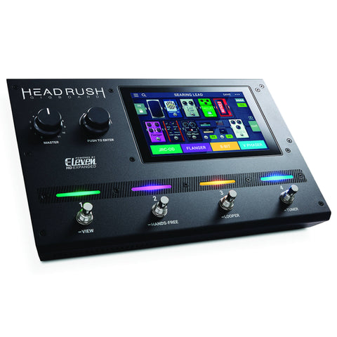 HeadRush Gigboard Multi FX Pedalboard Powered by Eleven HD-ThePedalGuy