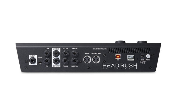 HeadRush Gigboard Multi FX Pedalboard Bundle with FRFR112-ThePedalGuy