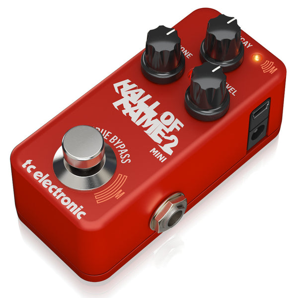 TC Electronic Hall Of Fame 2 Mini Reverb Pedal-ThePedalGuy