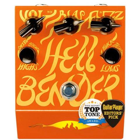 The Deep Trip HellBender Fuzz Pedal Open Box-ThePedalGuy