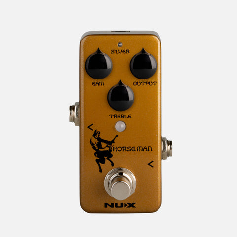 NUX Horseman Overdrive Pedal - PREORDER Ships in April-ThePedalGuy