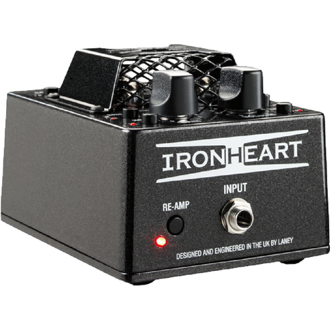 Laney Ironheart Pulse Tube Desktop Preamp / Reamp / USB Interface-ThePedalGuy