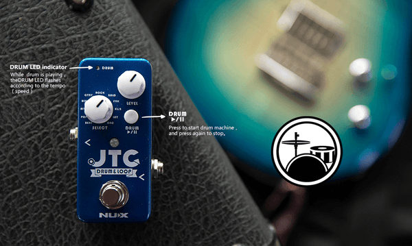 NUX Mini Core JTC JTC 24-Bit Drum & Loop Pedal Open Box-ThePedalGuy