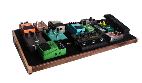 Ruach Music Kashmir 4 Pedalboard Bundle with Solderless Jacks and Adapters-ThePedalGuy