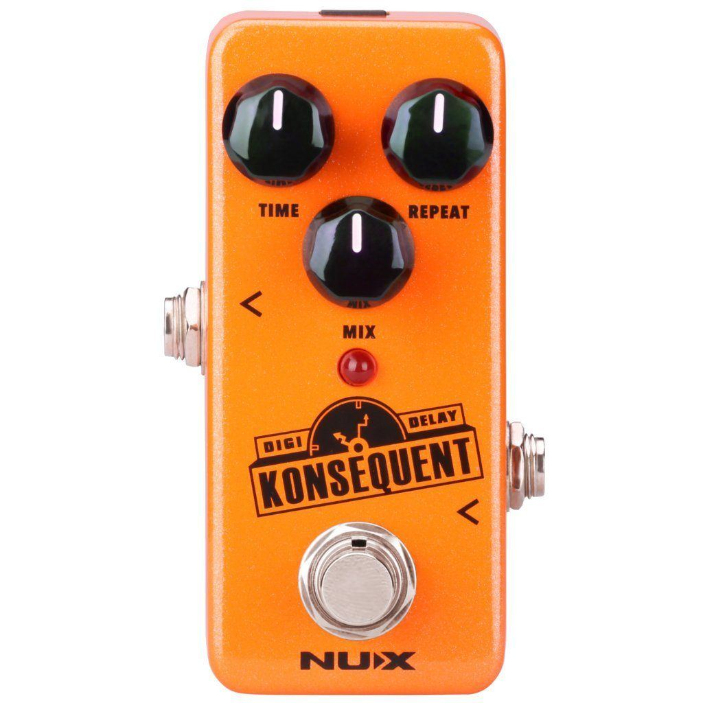 NUX Konsequent Digital Delay Pedal Open Box-ThePedalGuy