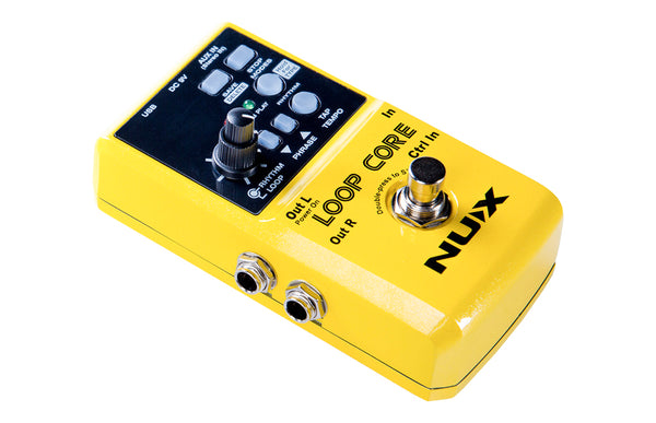 NuX Loop Core Looper Pedal with 6 Hours Recording Time Open Box-ThePedalGuy