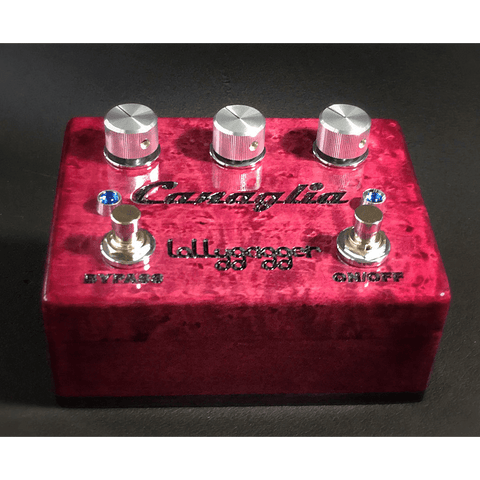 Lollygagger FX Canaglia Overdrive Special Edition Birds Eye Maple Bordeaux-ThePedalGuy
