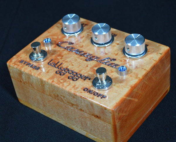 Lollygagger FX Canaglia Overdrive Special Edition Birds Eye Maple Habanero-ThePedalGuy
