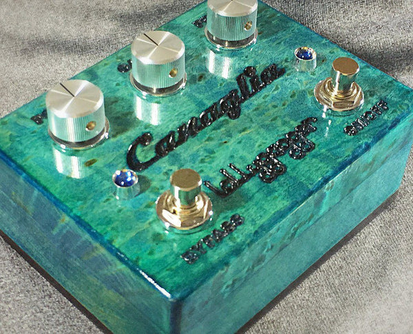 Lollygagger FX Canaglia Overdrive Special Edition Birds Eye Maple Lake Michigan Open Box-ThePedalGuy