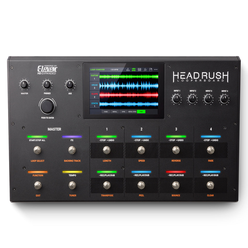 "HeadRush Looperboard Advanced Performance Looper with 7"" Touchscreen-ThePedalGuy"