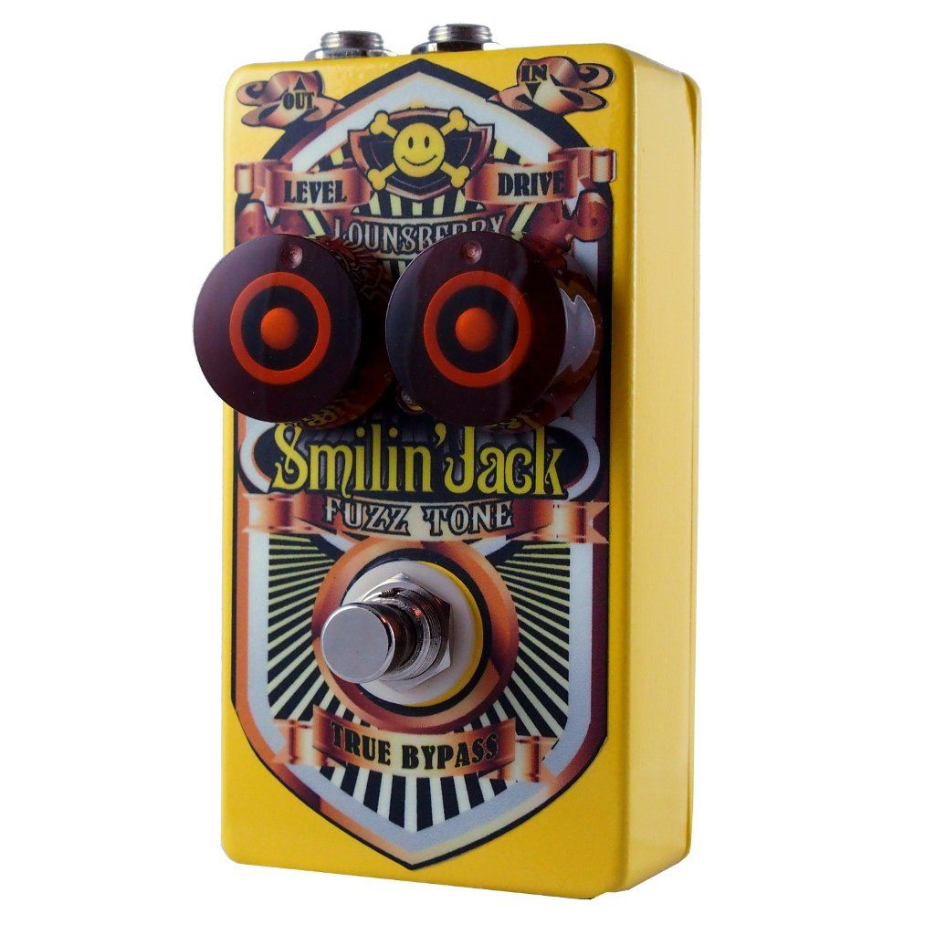 Lounsberry Pedals Smilin' Jack Fuzz Pedalm OPEN BOX-ThePedalGuy