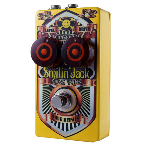 Lounsberry Pedals Smilin' Jack Fuzz Pedal OPEN BOX-ThePedalGuy