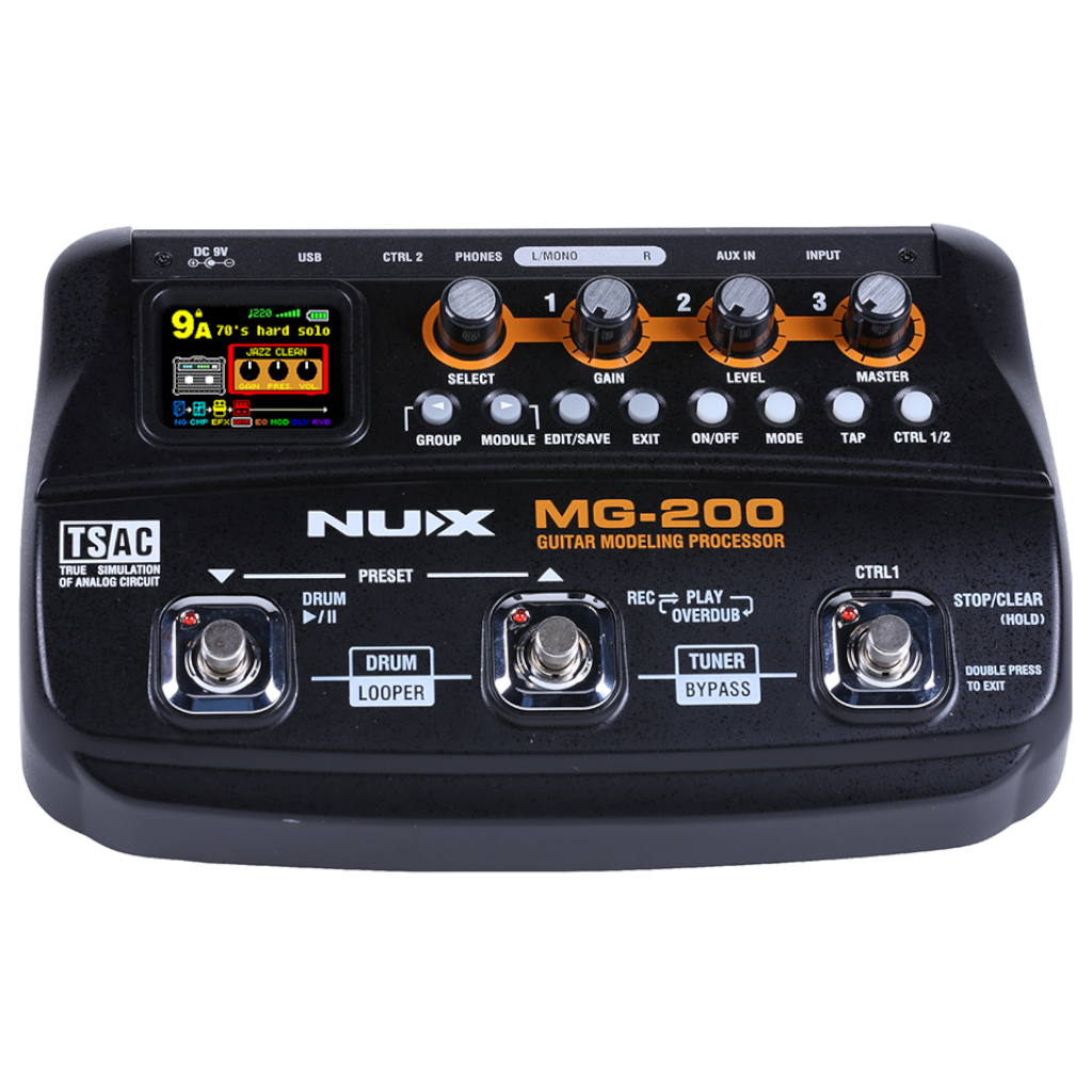 NuX MG-200 Guitar Modeling Processor Open Box-ThePedalGuy