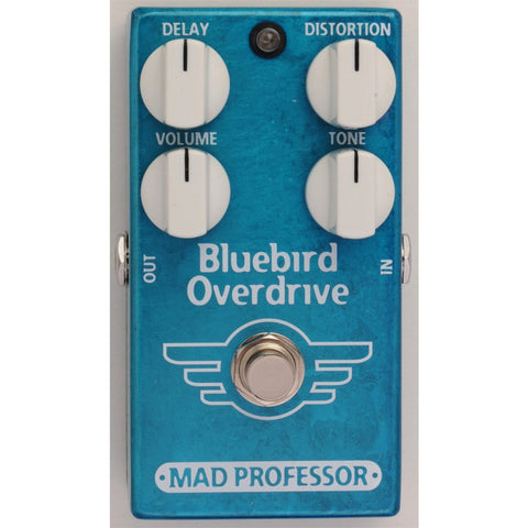 Mad Professor Bluebird Overdrive Delay Guitar Pedal-ThePedalGuy