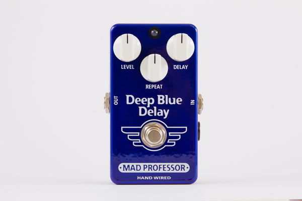 Mad Professor Deep Blue Delay Guitar Pedal Hand Wired Edition-ThePedalGuy