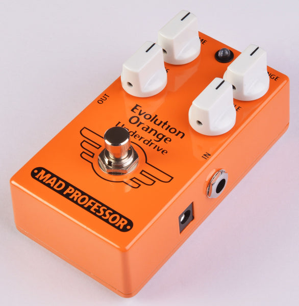 Mad Professor Evolution Orange Underdrive Pedal-ThePedalGuy