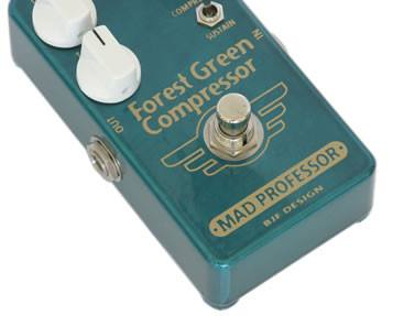 Mad Professor Forest Green Compressor Guitar Pedal Hand Wired Edition-ThePedalGuy
