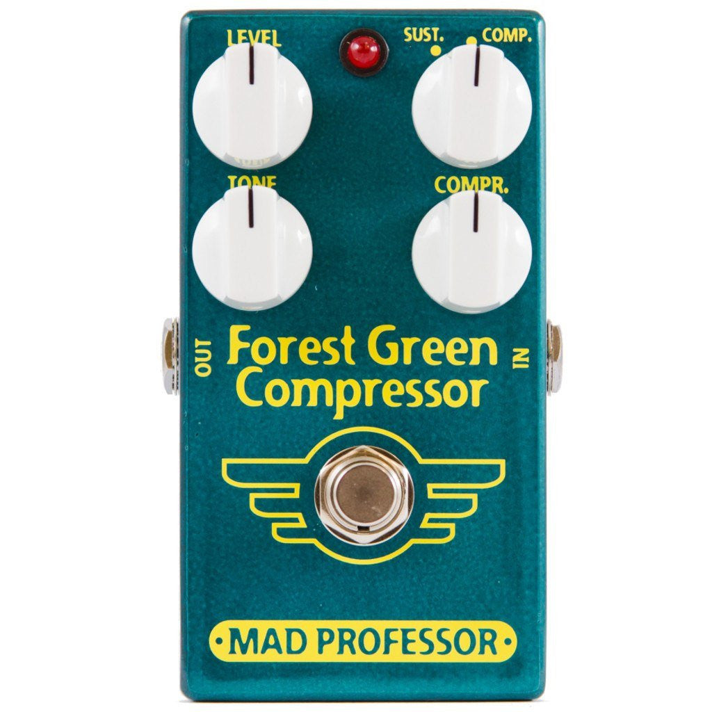 Mad Professor Forest Green Compressor Guitar Pedal B Stock-ThePedalGuy
