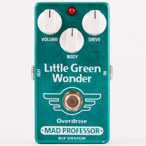 Mad Professor Little Green Wonder Overdrive Guitar Pedal-ThePedalGuy